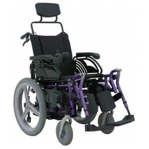 Cadeira de rodas motorizada Lumina LGR 20 Sistema Leito